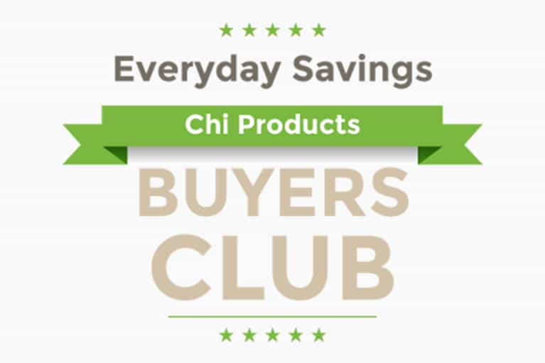 Join the Chi Products BUYERS CLUB